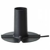 СКАЛЛЬРАН Основание настольной лампы,темно-серый/металл